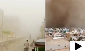 سمندری طوفان تاؤتے کے اثرات، کراچی میں آندھی کے ساتھ بارش