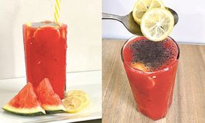 Cook-it-yourself: Watermelon smoothie
