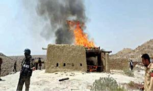 LEAs demolish eight hideouts of Ladi gang