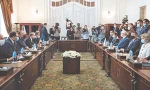Cairo, Tel Aviv hold talks for 'permanent ceasefire'