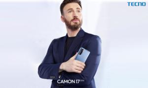 Chris Evans signed as global ambassador for TECNO Camon 17 series