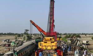 Death toll from Ghotki train tragedy rises to 65