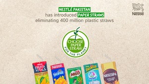 Sip responsibly: Nestlé launches paper straws in a bid to promote sustainable packaging
