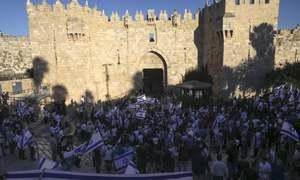 Ultranationalists hold Jerusalem march; 33 Palestinians wounded