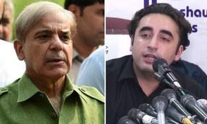 قومی اسمبلی میں ہنگامہ آرائی: بلاول، شہباز کا ایک ساتھ لائحہ عمل تشکیل دینے کا فیصلہ