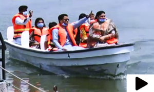 پنجاب میں  سیاحت کھلنے پر کلرکہار جھیل پر بھی رونق بحال ہوگئی