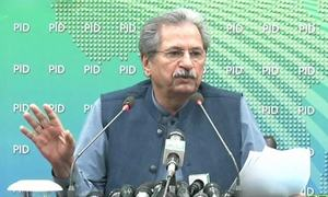 Students allowed to take MDCAT even if they have yet to take exams for grade 12: Shafqat Mahmood