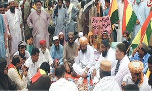 Angry opposition blocks roads over Balochistan budget proposals