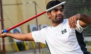 Javelin thrower Arshad Nadeem sharpens hopes of rare Olympic medal for Pakistan