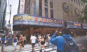 New York's Radio City reopens after 15 months