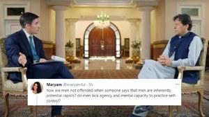 Twitter has had enough of PM Imran Khan's rape apologies