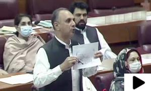 'مسلم لیگ (ن) معیشت کی راہ میں بارودی سرنگیں بچھا کر گئی'