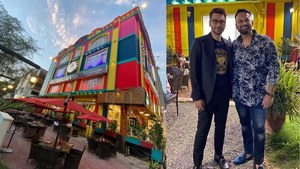 Actor Noman Masood's colourful new restaurant in Islamabad is a sight for sore eyes