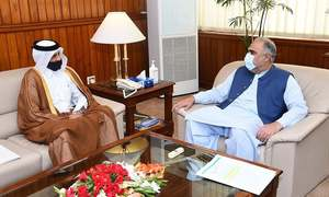 Qatar pledges one million Covid-19 vaccine doses to Pakistan
