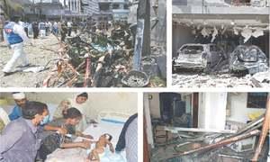 Lahore blast near jailed JuD leader's house kills three