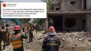 Celebrities pray for the victims and survivors of Lahore's Johar Town blast