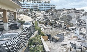 Many die, 100 go missing as 12-storey building collapses in Florida