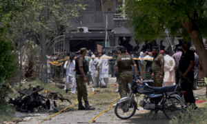 Two more suspects held in Johar Town blast case