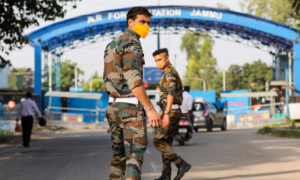 Two low-intensity explosions reported at Jammu Air Force Station in occupied Kashmir