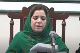 بی این پی۔مینگل کی زینت شاہوانی نے پارٹی سے 'بے دخلی' کو مسترد کردیا