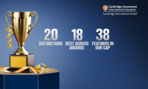 CAIE announces 20 distinctions, 18 Best Across awards for The City School network