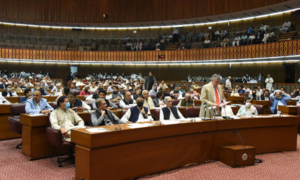 Opposition's threats ring hollow as FY22 budget sails through NA with majority vote