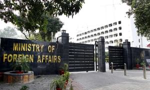 FO rejects Indian charges about drone attack in occupied Kashmir