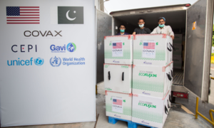 2.5m doses of Moderna vaccine arrive from US