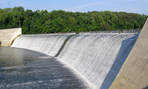 Destructive powers of  politically charged dams