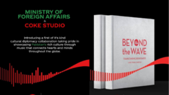 Coke Studio collaborates with the foreign ministry to launch a coffee table book