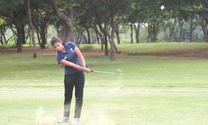 Shabbir surges into lead as Afsar gets hole-in-one