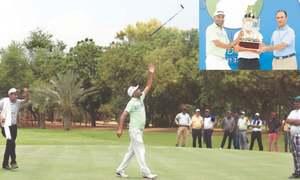 Shabbir edges Ahmed to win CNS Open