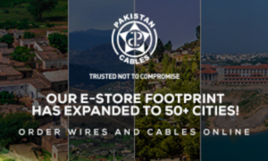 Pakistan's only cables and wires e-store is now serving customers in faraway areas of Pakistan
