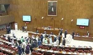 سینیٹ: علی امین گنڈا پور کے بیان پر اپوزیشن کا شدید احتجاج