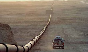 Talks with Russian team on gas project under way