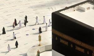 تصاویر: فریضہ حج کی ادائیگی کے لیے مسلمان مکہ مکرمہ روانہ