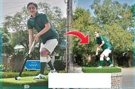 Hockey, ball of Samiullah's statue go missing