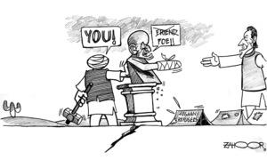 Cartoon: 19 July, 2021