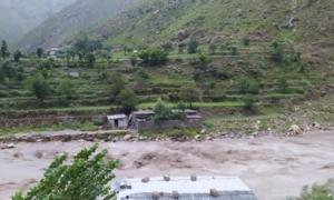 Two children among four dead as rain batters KP