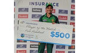 Fatima shines as Pakistan Women win final ODI
