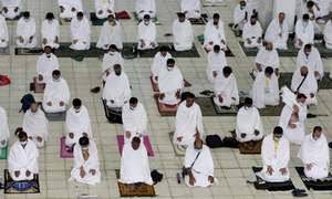 In pictures: Pilgrims mark second Haj overshadowed by Covid-19