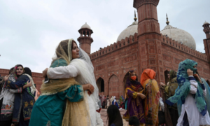 In pictures: Masks and distanced prayers as Muslims in Pakistan and world over celebrate Eidul Azha