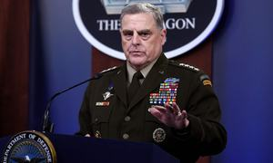Half of all Afghan district centres under Taliban control, says top US general