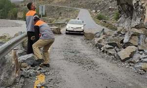 گلگت بلتستان:بارشوں سے زندگی متاثر، شاہراہِ قراقرم دو روز بعد ٹریفک کیلئے بحال