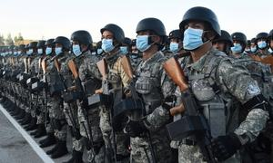 Tajikistan tests combat readiness as Taliban advance in Afghanistan