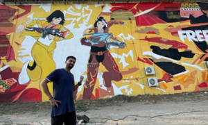 Characters come to life as Garena Free Fire unveils Pakistan's largest murals for fans