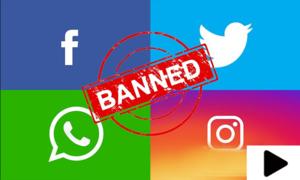 کورونا ویکسین نہ لگوانے والوں کے سوشل اکاؤنٹس بند کرنے کا فیصلہ