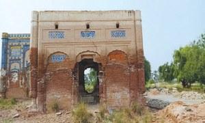 Tombs of Legharis in state of utter disrepair
