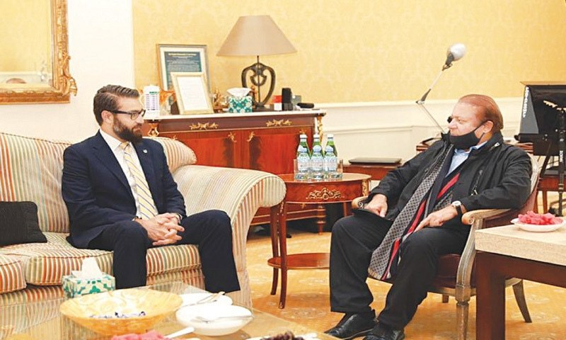 Nawaz-Afghan NSA meeting stirs up political storm