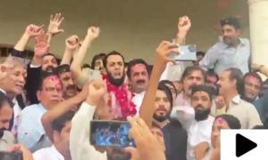 رہنما مسلم لیگ (ن) عطا تارڑ کو رہائی مل گئی